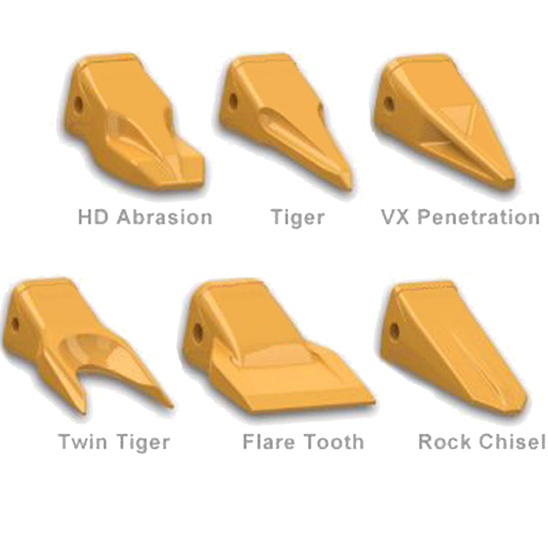 Replacement Teeth and Adapters